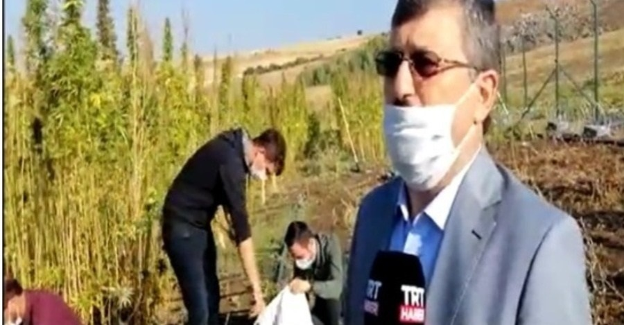 OUR VICE RECTOR PROF. DR. GÜNGÖR YILMAZ SPEAKS TO TRT HABER ABOUT HEMP