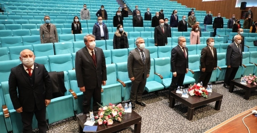 CONFERENCE ORGANIZED AT OUR UNIVERSITY ON NOVEMBER 10 ATATÜRK REMEMBRANCE DAY