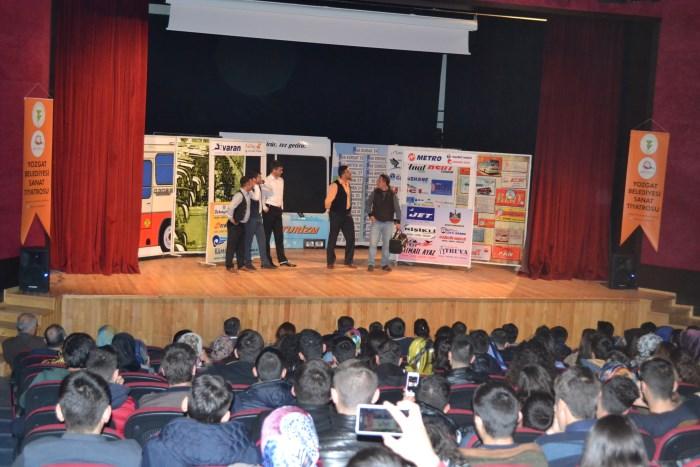 yozgat bozok universitesi iletisim protokol ve enformasyon mudurlugu yerkoy adalet myo da tiyatro gosterisi